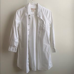 Michael kors white dress/blouse